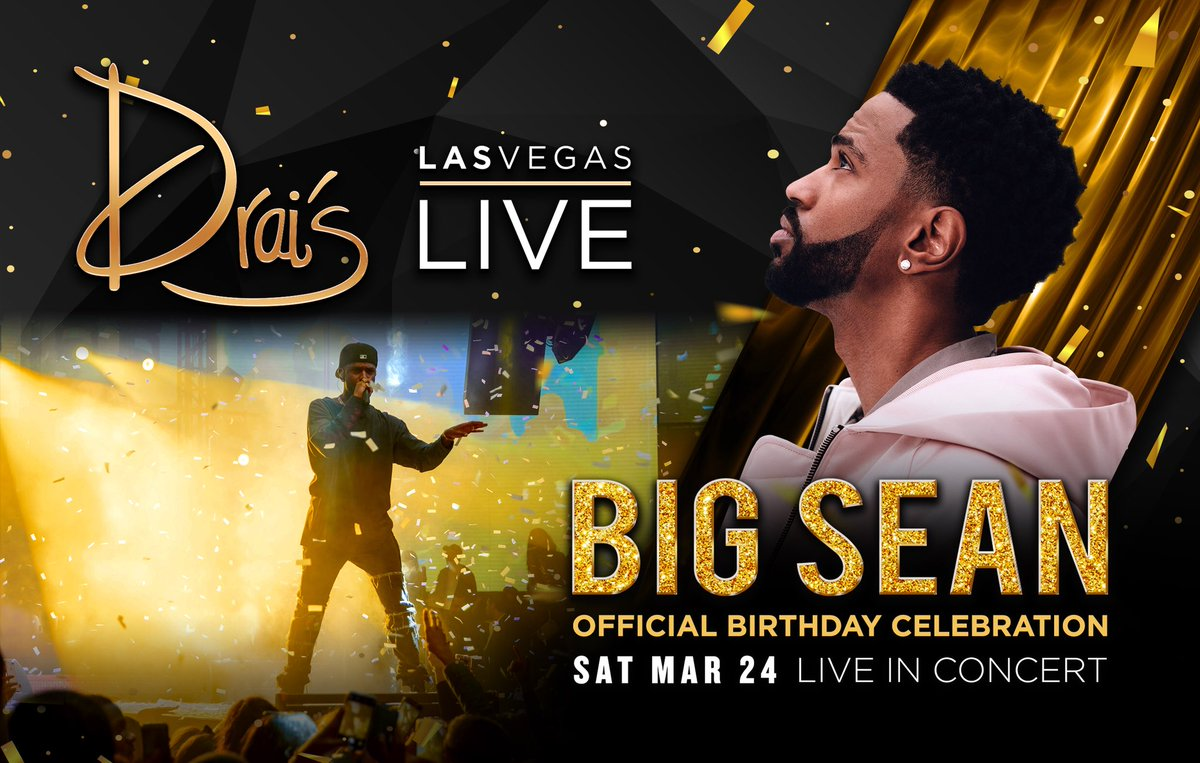 My birthday start tomorrow at Drais!!! Meet me there 🚀