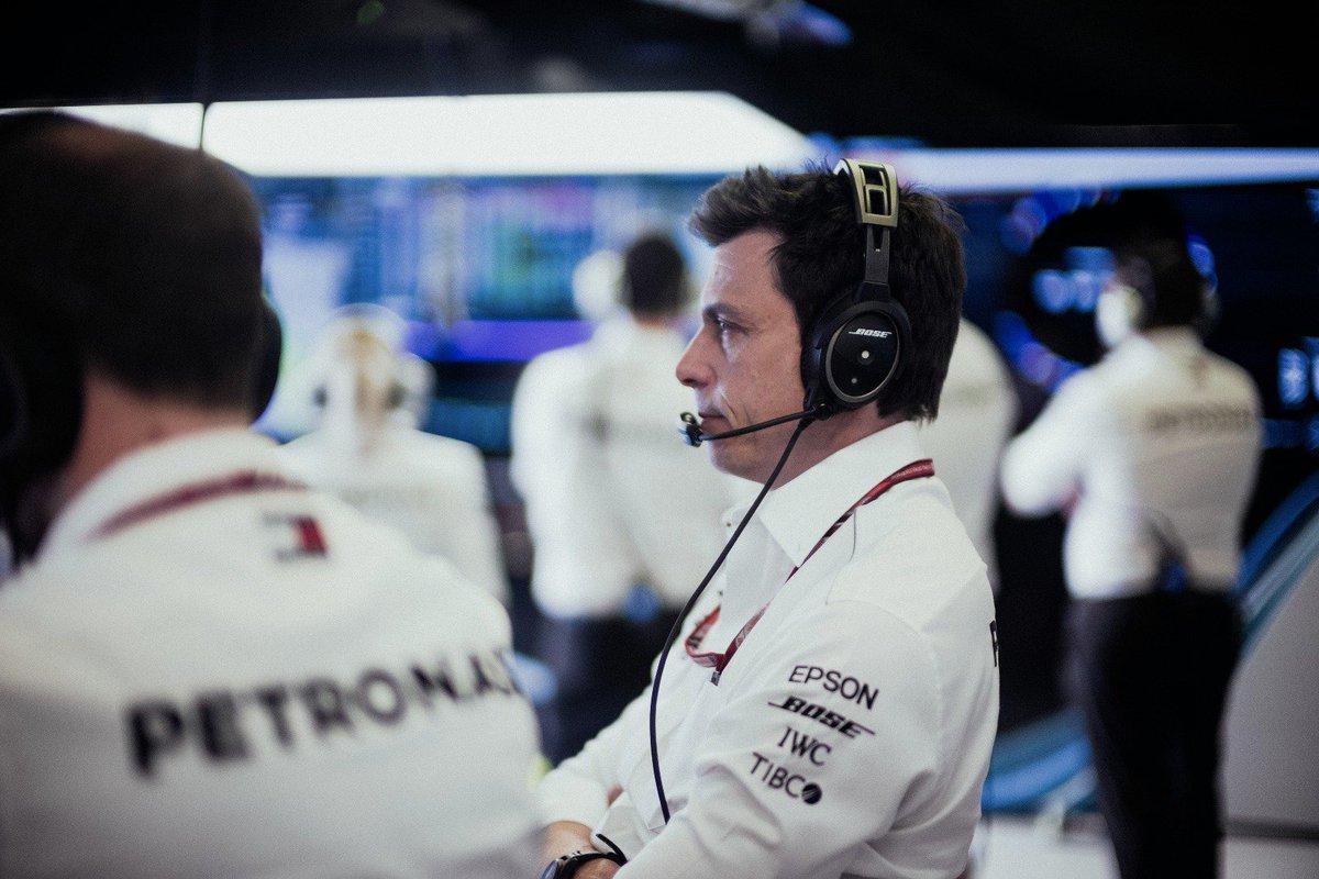 Toto Wolff Director de Equipo Mercedes Fórmula 1