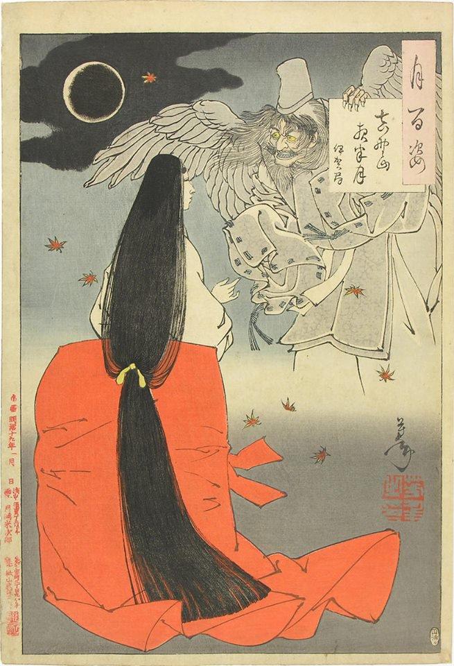 月岡芳年 Tsukioka Yoshitoshi (1839 - 1892) 月...
