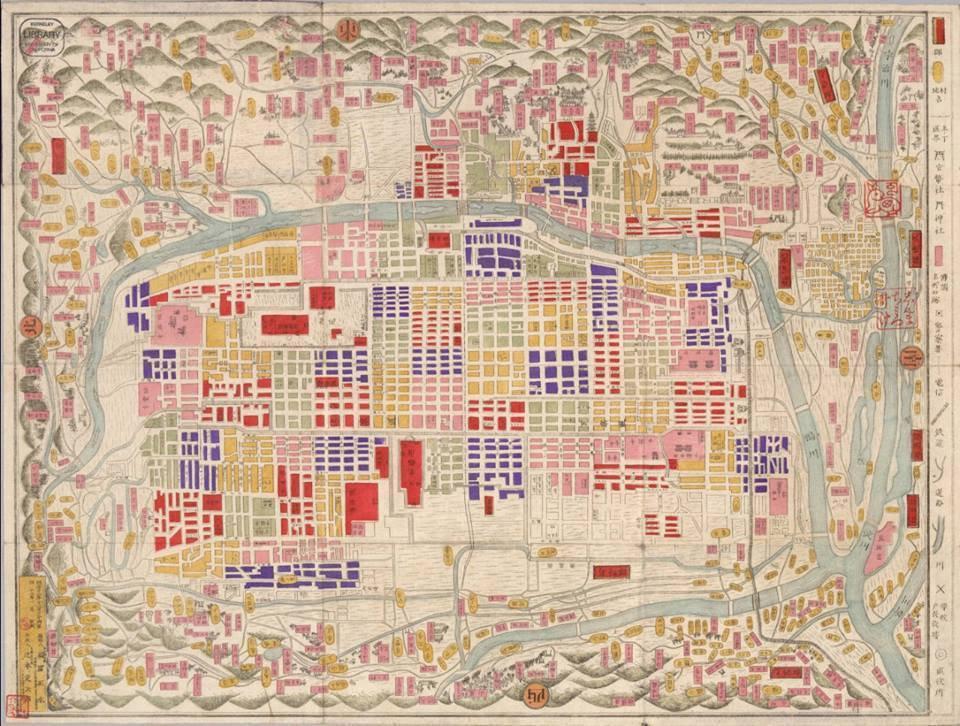 Maps of Kyoto, ca. 1880 https://t.co/BvU...