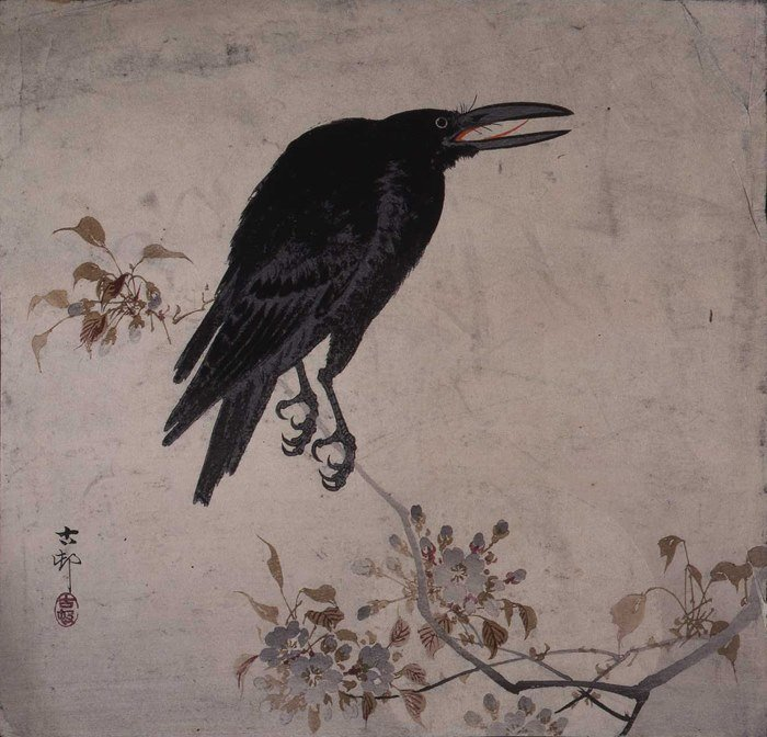 Raven by an unknown Japanese artist, No...