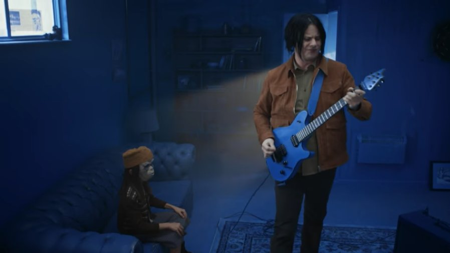 """See Jack White's surreal, color-coded """"Over and Over and Over"""" video https://t.co/ignC4tHyTP https://t.co/Mob0OZ1Kx9"""