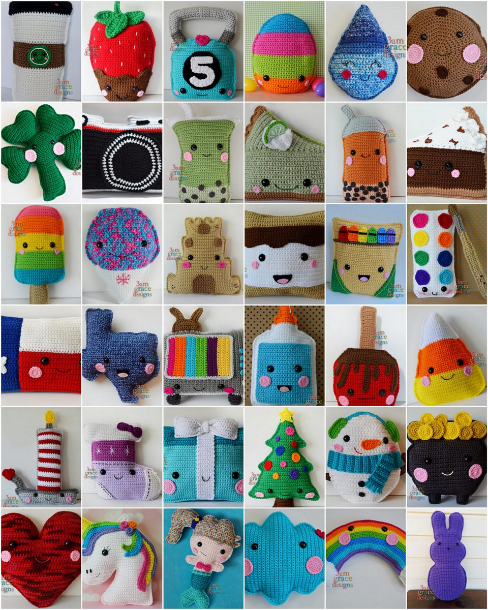 Amazon.com: Kawaii Crochet: 40 super cute crochet patterns for adorable  amigurumi eBook: Bradley, Melissa: Kindle Store | 1200x960