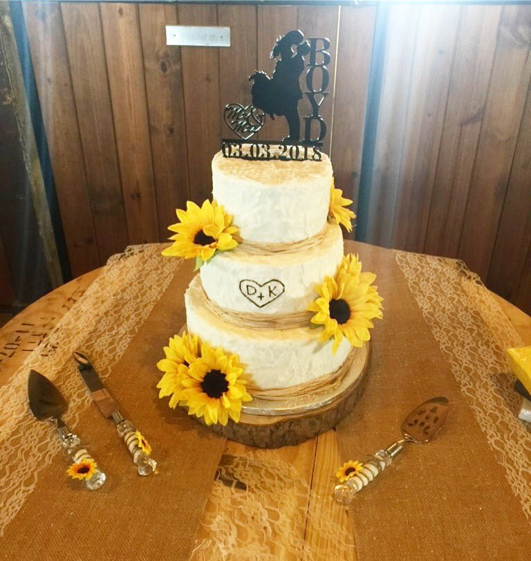 sunflowerweddingcake photos and hastag