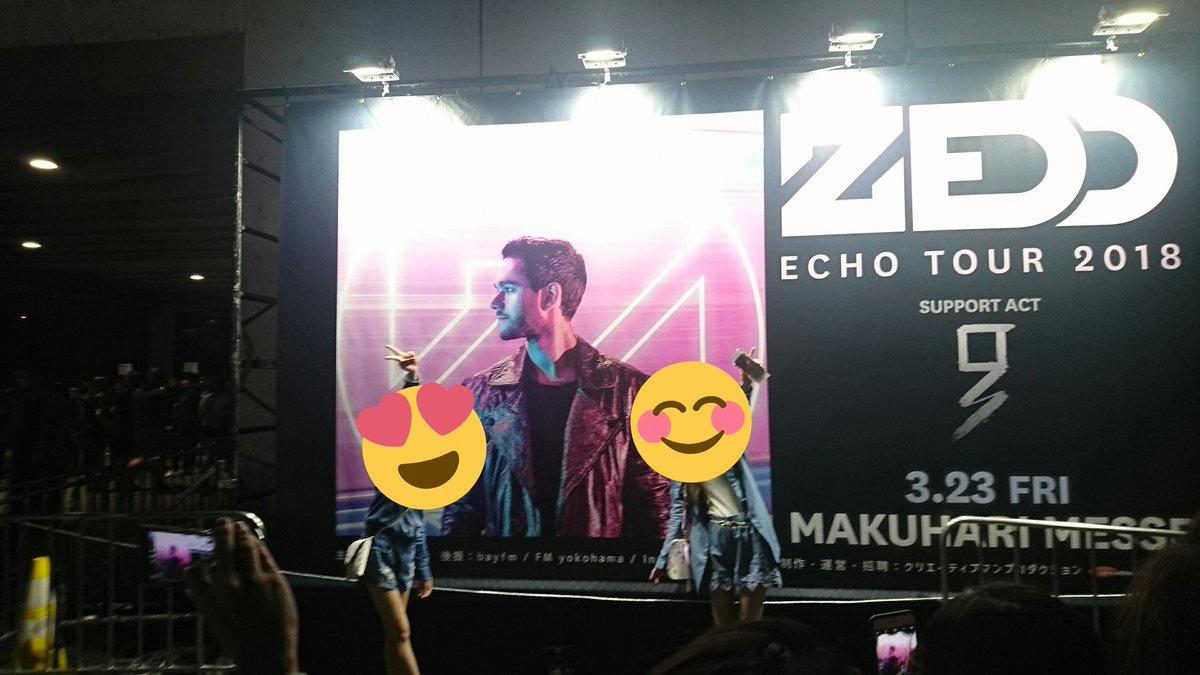 ZEDD echo tour    Thank Ü  楽しい時間だったよ🙋🙋 h...