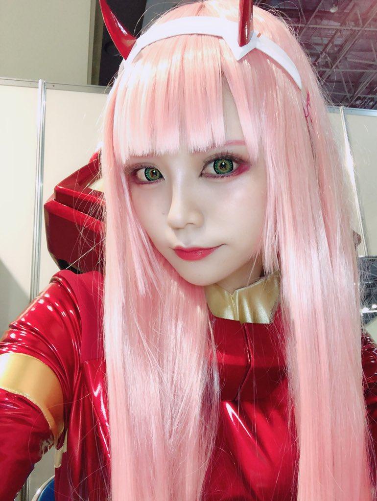 アニメジャパン1日目✨ アニプレックスさんにてお待ちしてます💗 #ダーリンインザ...