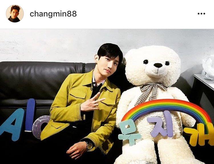 Instagram チャンミン