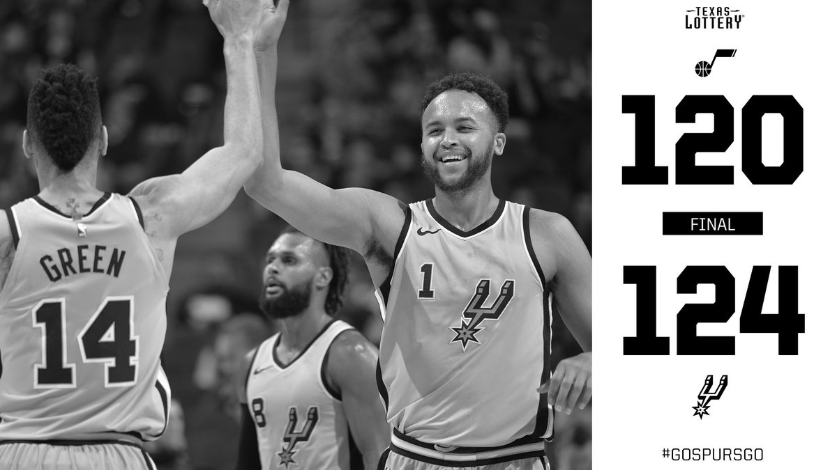 Spurs Win in OT!!!