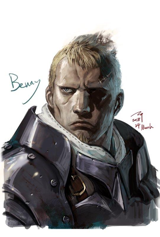 #ファイアーエムブレムif より ブノワ神 Today March 24th is Benny's Birthday, Congrats🎂👏