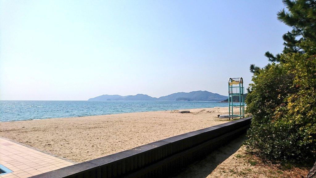 虹ヶ浜海水浴場 (山口県光市) https://t.co/TqBJ0sR6bh
