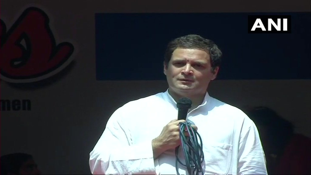 I don't know the details of NCC training & that type of stuff, so I won't be able to answer that question: Rahul Gandhi on being asked, 'What benefits will you give to NCC cadets after passing 'C' certificate examination?' #Karnataka