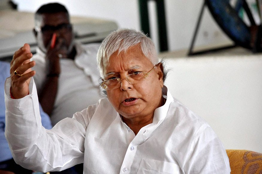 #UPDATE  -- Total Rs 60 lakh fine imposed (Rs 30 lakh under PC act and Rs 30 lakh under IPC) and 14 years imprisonment (7 years under IPC and 7 years under Prevention of Corruption Act) on Lalu Prasad Yadav in Dumka Treasury case to run consecutively.
