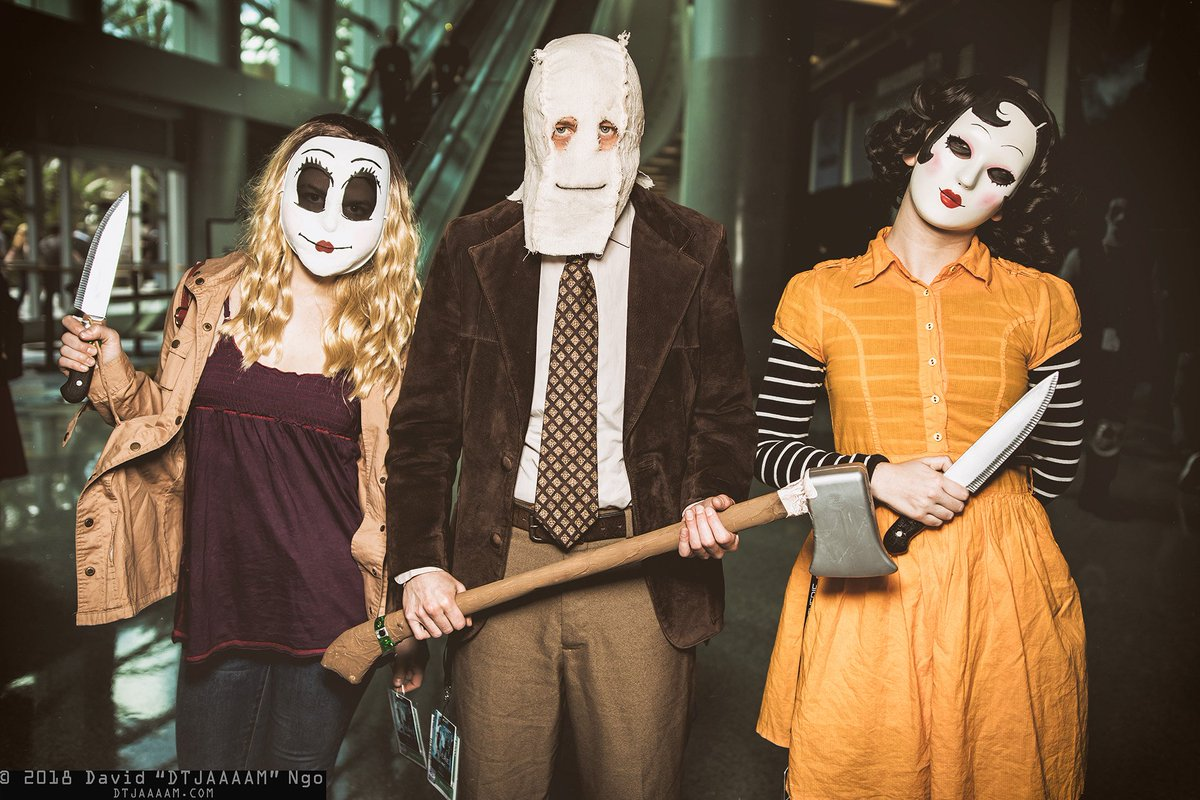 one more shot of the strangers cosplayers itsyagirlharley httpswwwinstagramcomitsyagirlharley