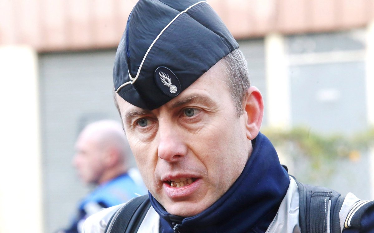 The face of a true hero of France. A nation in your debt. Lieutenant Colonel Arnaud Beltrame. RIP.
