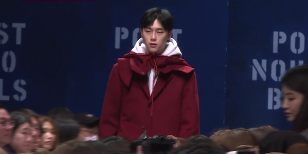 Kwon Hyun Bin returns to the runway for '2018 F/W Seoul Fashion Week' + JBJ members attend in support  https://t.co/qBb6PMqeMJ