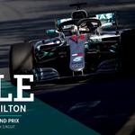 BOOM!!!! @LewisHamilton = 🔥🔥🔥🔥  #DrivenByEachOther #F1 #AusGP