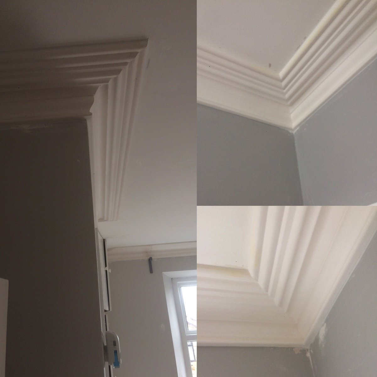 3 Rooms Fitted With This Victorian Cornice Yesterday For A Lovely Couple In  Sheffield The Finishing Touches Make The Difference ...
