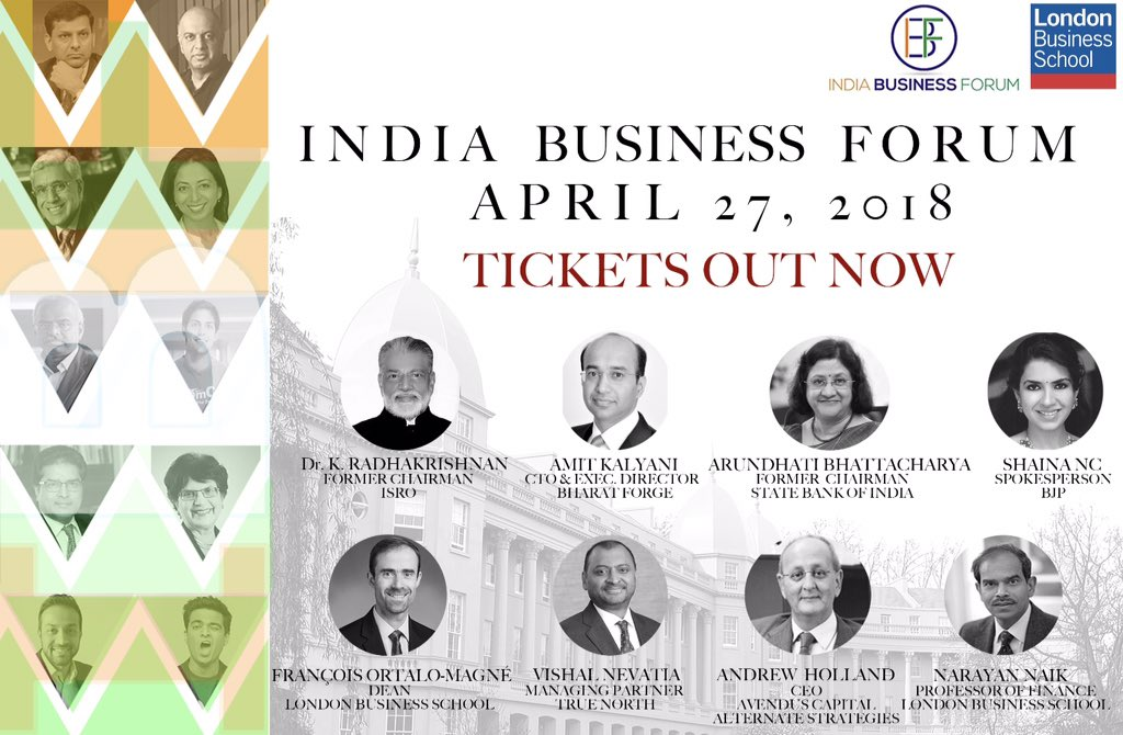 Excited and honoured to host @amitbkalyani @ShainaNC @Hollaand @fortalomagne and a host of other speakers at the India Business Forum conference 2018 @LBS  #whyiloveLBS #India <br>http://pic.twitter.com/dFMSJISXFn