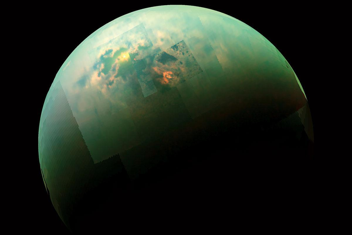 A new recipe for life could lurk beneath the tranquil seas on Titan, Saturn's largest moon https://t.co/RwHP4c0Uts