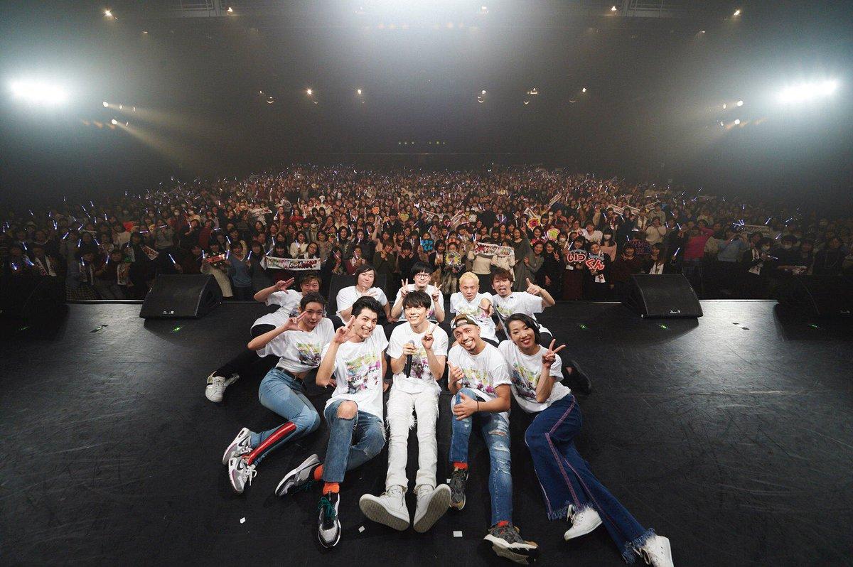 今年1月に開催された、初の東名阪ライブツアーが帰ってきます!! ついに!! 今夜WOWOWで放送^^
