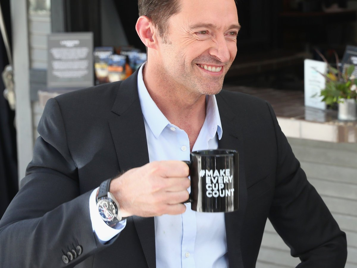 This is how Hugh Jackman takes his coffee: https://t.co/1W0T73YdnU