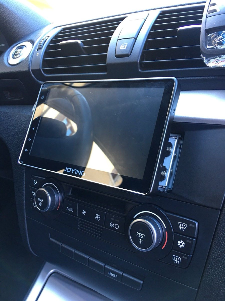 joying autoradio on twitter bmw 1er 2009 installed with. Black Bedroom Furniture Sets. Home Design Ideas