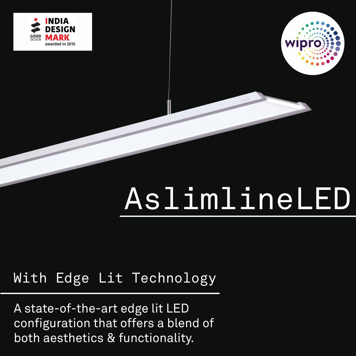 Wipro Lighting On Twitter AslimlineLED With Our Stateoftheart - Lit design 2015