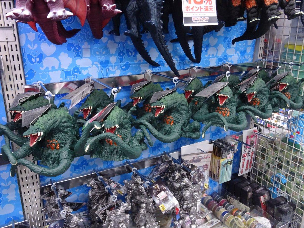 本日のヨドバシの光景 (1枚目)群生するビオランテ (2枚目)特生自衛隊驚異のメ...