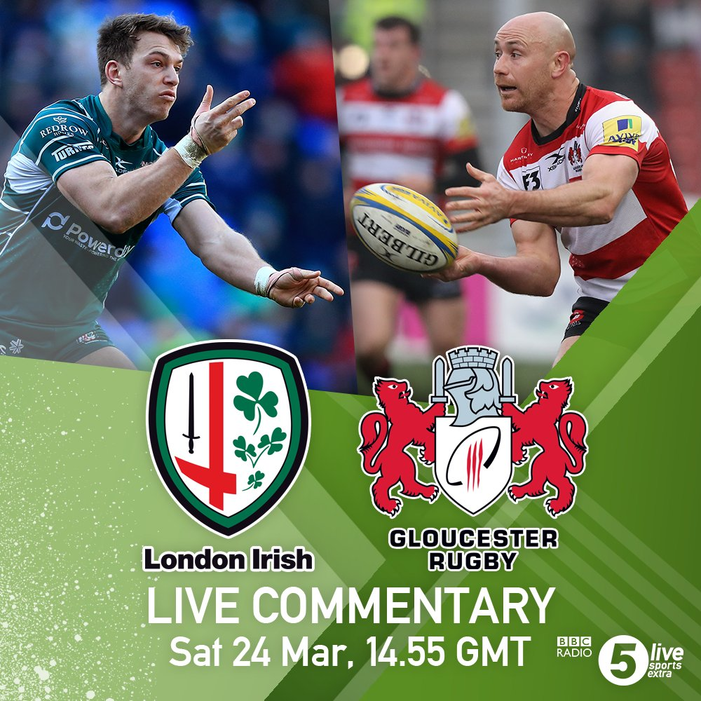 Time is running out for bottom club @LiRFC.  They host play-off chasing @gloucesterrugby in the #AvivaPrem.  We have coverage right now over on Sports Extra: https://t.co/cqpX3r3l2K  #LIRvGLO