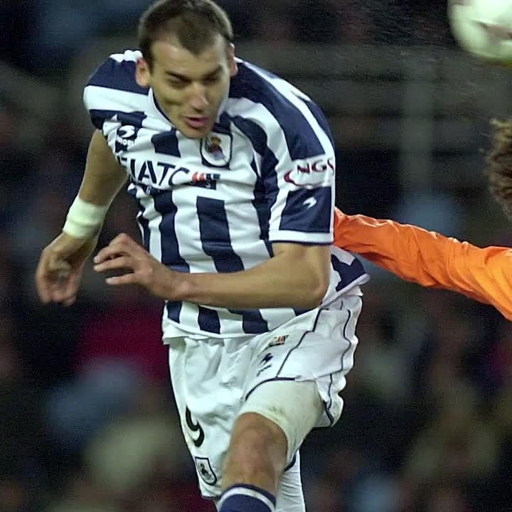 Darko Kovačević llevaba el gol en la san...