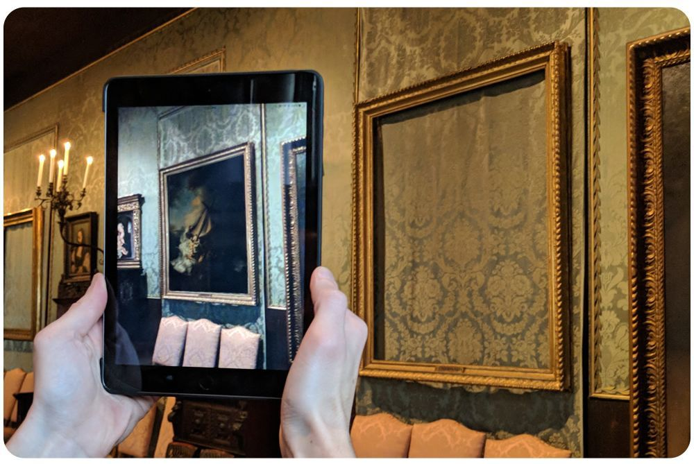 Boston Museum is using augmented reality to show stolen works #hyperconnectedmuseums #IMD2018| @PSFK @gardnermuseum buff.ly/2DPunBc