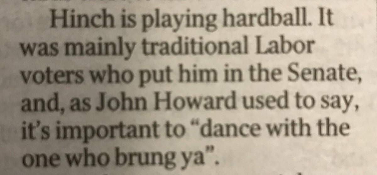 .@David_Speers Howard might have said th...