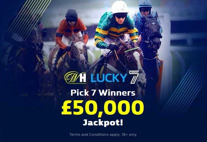 Play Lucky 7 - win £50k Jackpot!