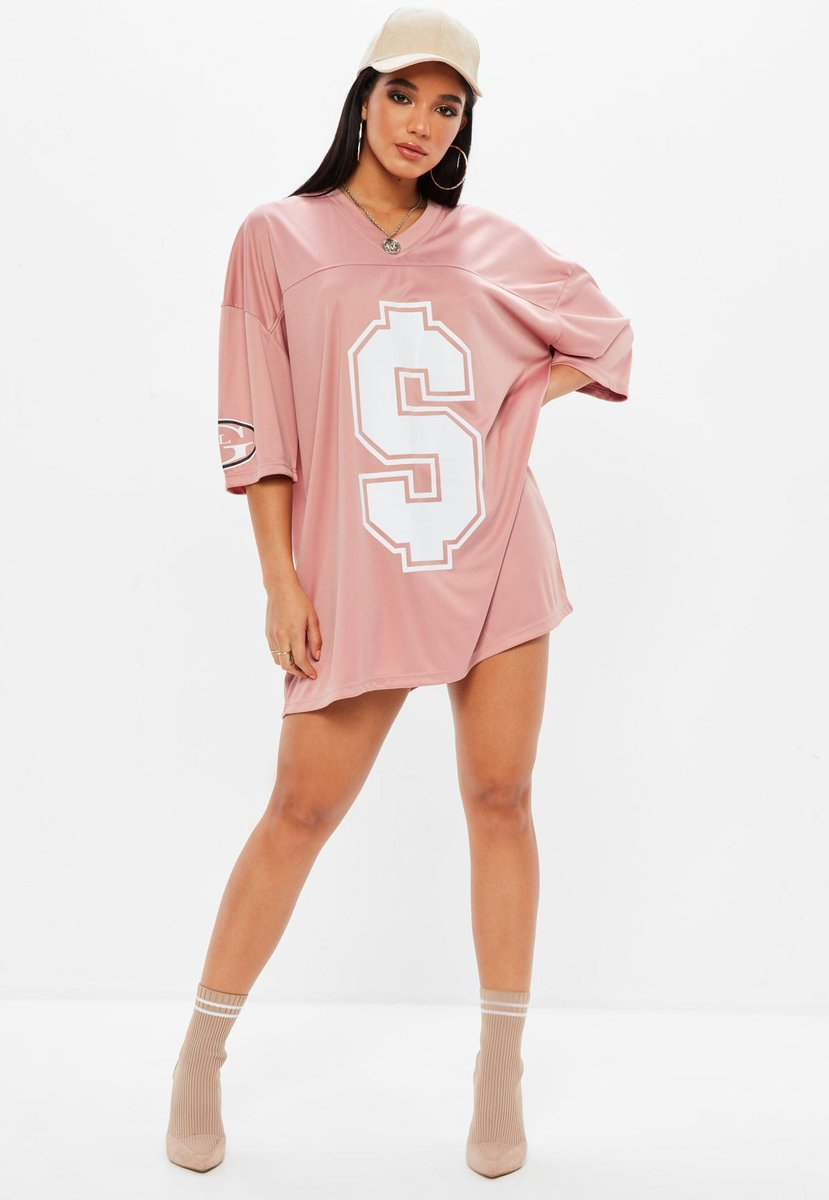 BALLER BABE 💲💲💲 Shop the pink american football t-shirt dress, fresh to site, RN + use code BABE10 to get it for 10% less 💸💸💸✌️ https://t.co/2RowcBESVj