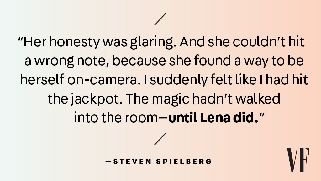 """Steven Spielberg cannot speak highly enough of @readyplayerone star @hillmangrad: """"I adore her.""""https://t.co/b18iESAi72 #VFxLena"""