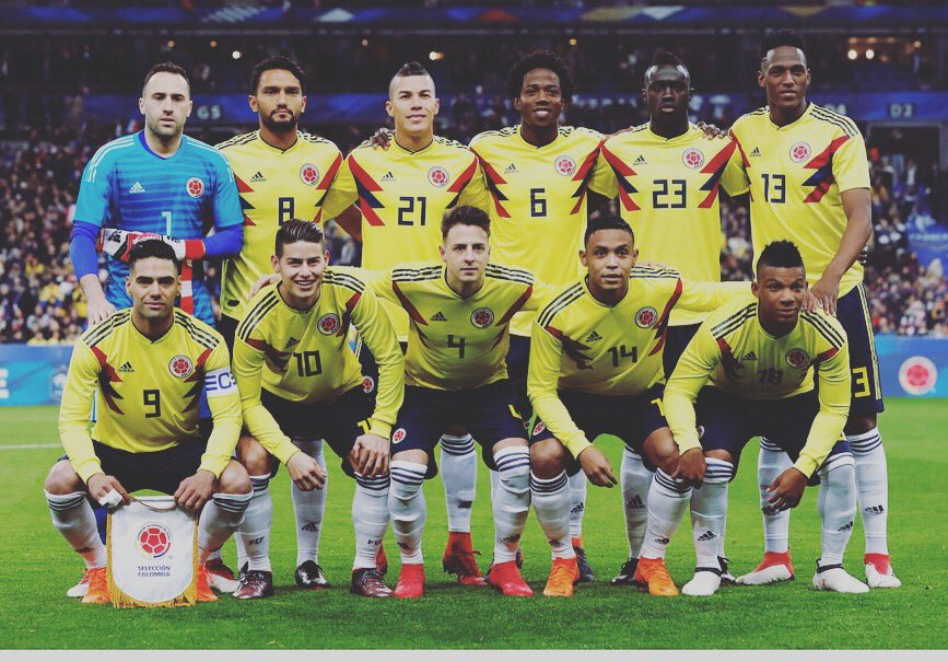 Gran triunfo ayer! Vamos COLOMBIA 🇨🇴