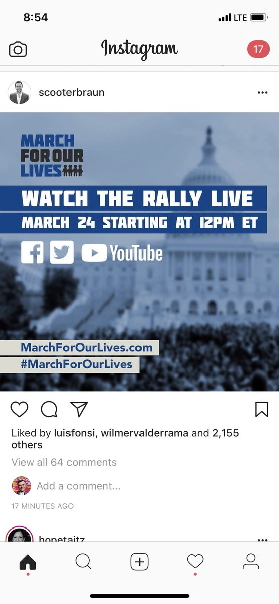 #MarchForOurLives so impressed by the youths focus on using modern and traditional communications to express their POV . People underestimate the power of youth/technology