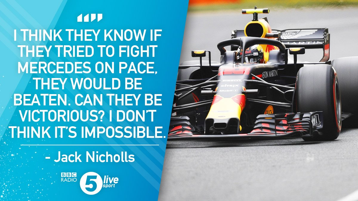 Can Red Bull or Ferrari defeat Mercedes in Australia?  @Jack_Nicholls thinks it'll be difficult, but not impossible, particularly for Max Verstappen.  📻 https://t.co/NI1sjtGRxI