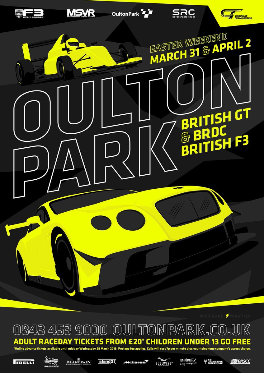Just one more week to go!! #BritishGT
