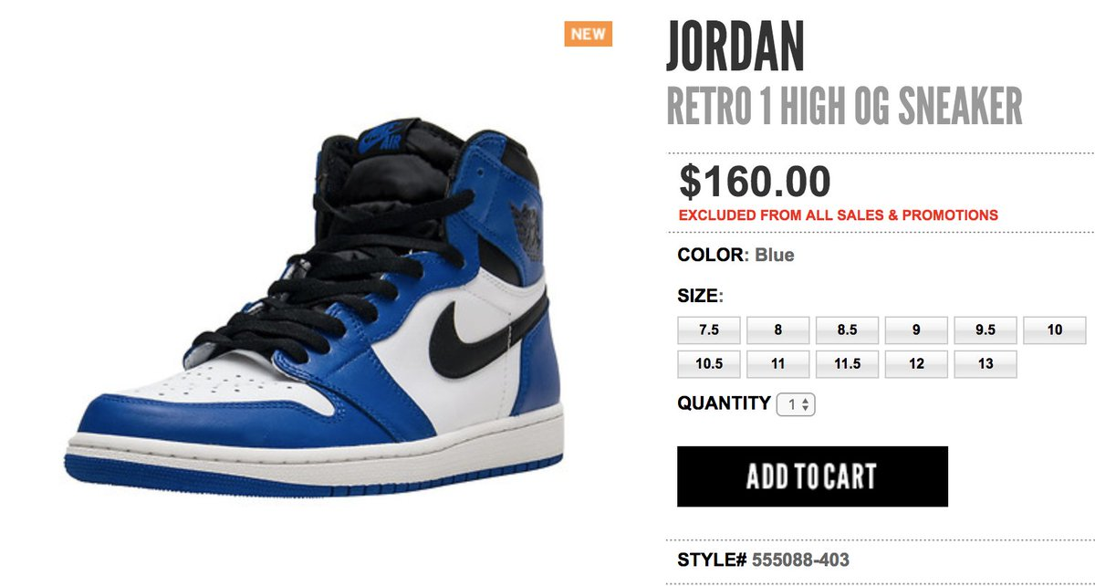 1d26fee75 australia justfreshkickss tweet now live via jimmyjazz air jordan 1 high  game royal men gs on