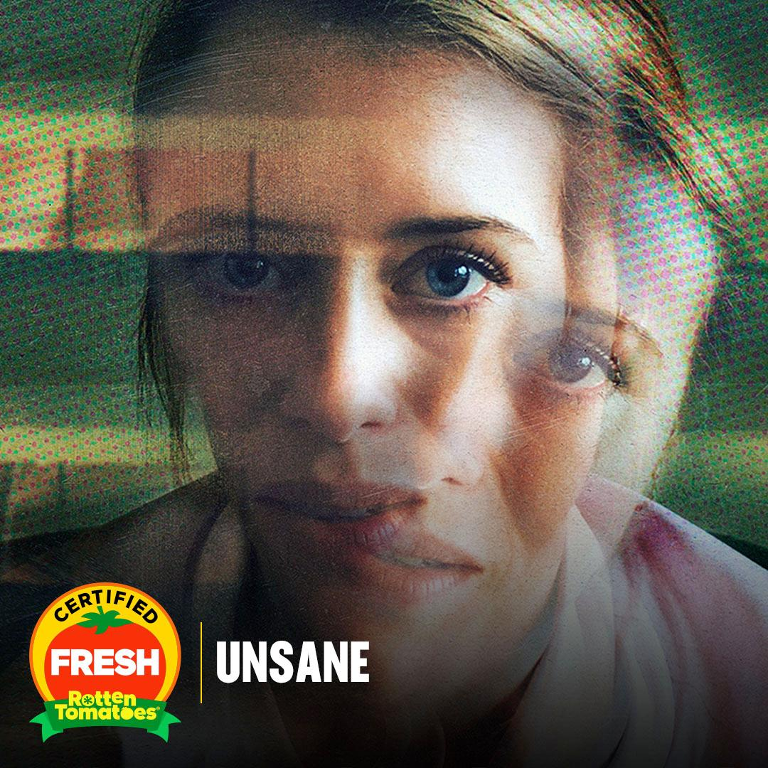 Steven Soderbergh's @UnsaneMovie was shot entirely on a phone, and is now #CertifiedFresh.