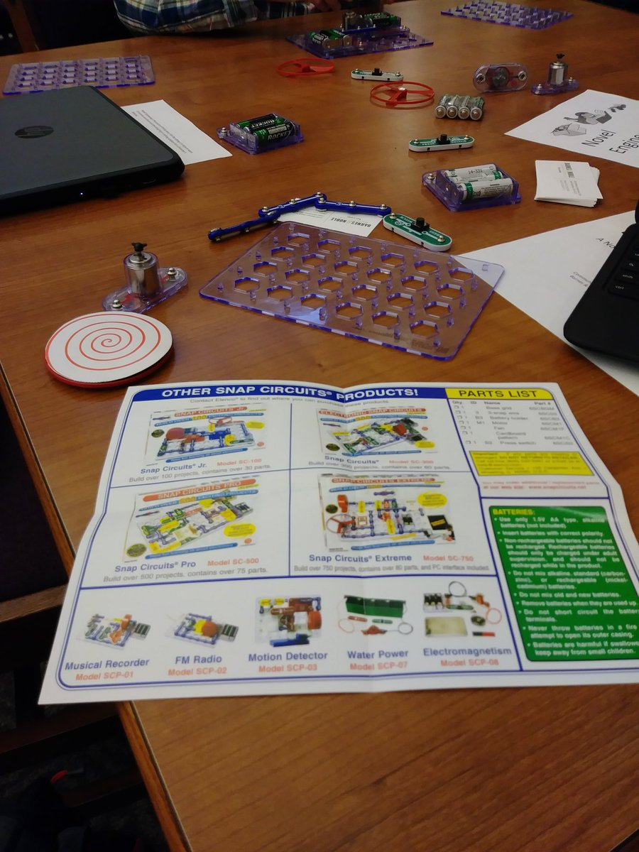 Snap Circuits Extreme Shannon Berghoff Berghistheword Twitter