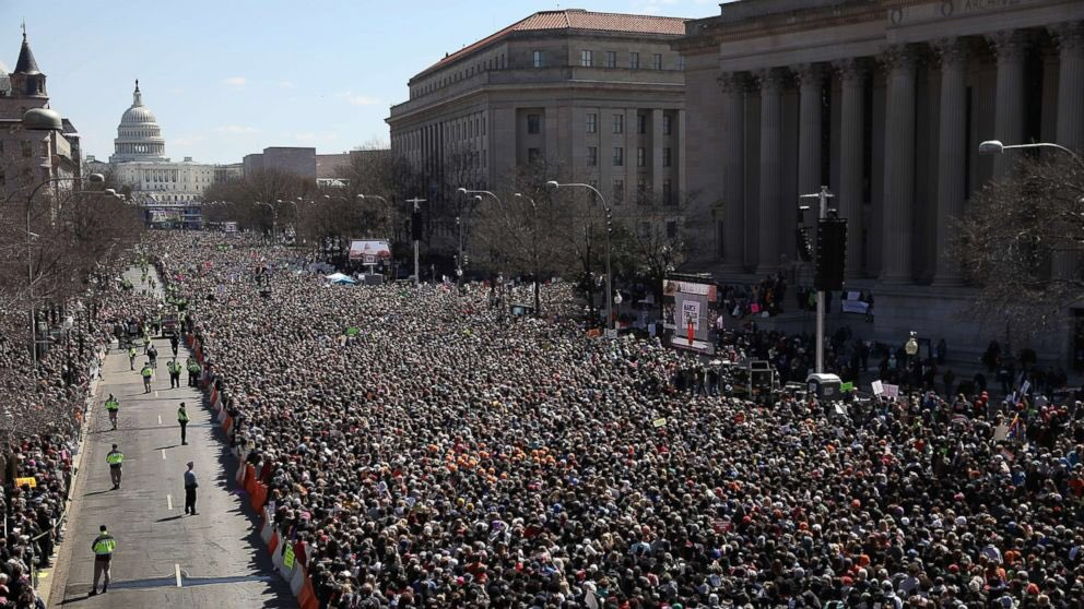 Seems like common sense gun control is pretty popular  #MarchForOurLives