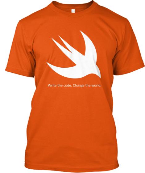 Swift Language Limited Edition T Shirt  http:// bit.ly/1M4wDVX  &nbsp;   #swiftlang #programming <br>http://pic.twitter.com/3hgb2gjxpB