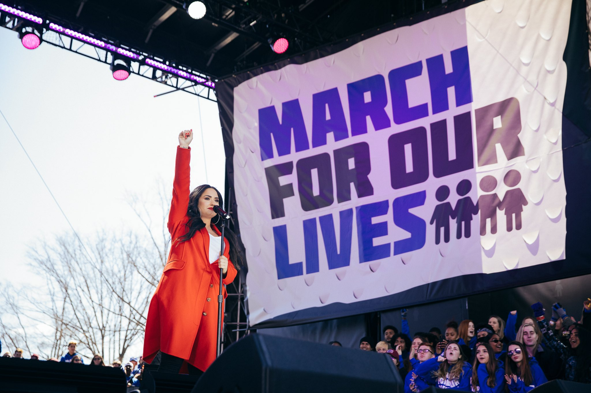Today I marched with a lot of warriors ���� Proud to be a part of #MarchForOurLives @AMarch4OurLives https://t.co/4uukvVMAZ9