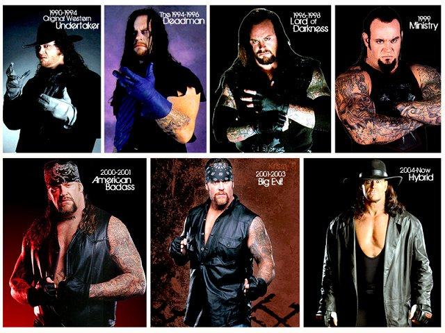 Happy Birthday to the one and only original Deadman, The Undertaker!