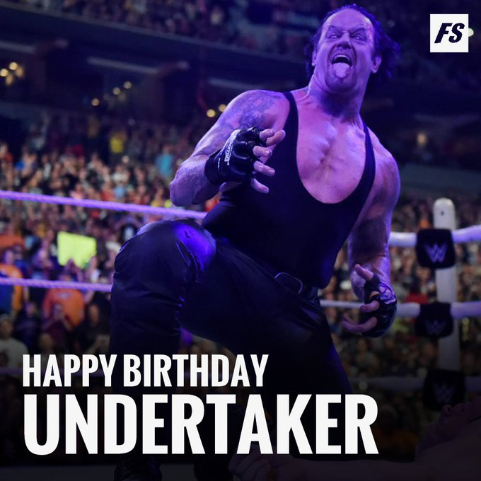 Happy Birthday to icon The Undertaker!