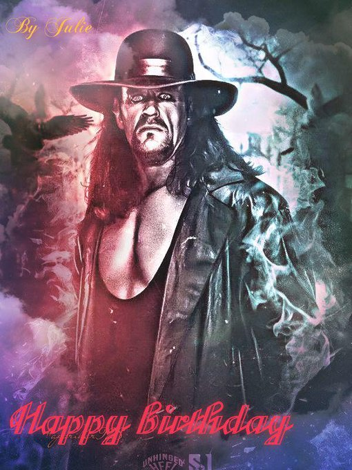 Happy birthday to the Undertaker