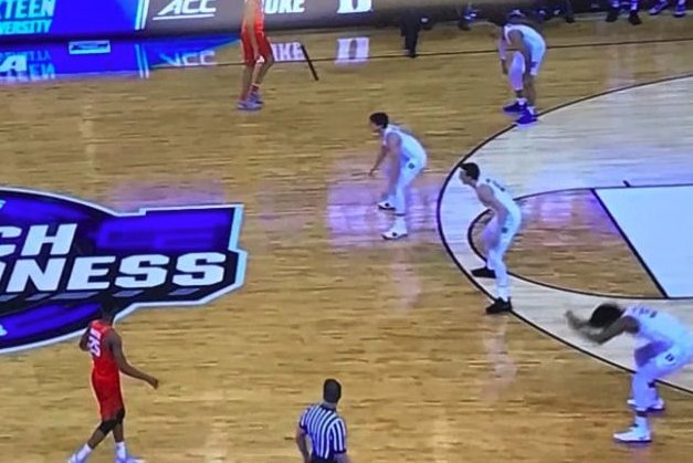 Icymi Duke Did A Coach Requested Synchronized Floor Slap Vs