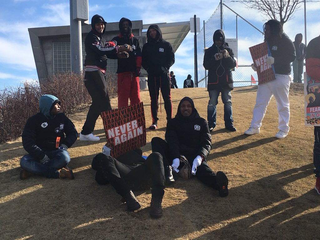 Green ReEntry Cohort Joins #MarchForOurLives